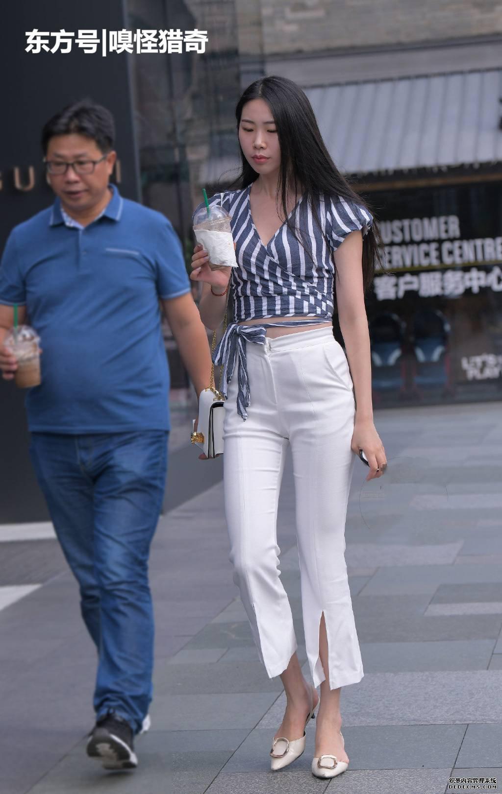 時尚街頭的情侶們,穿搭時尚