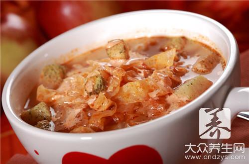 西紅柿白菜湯