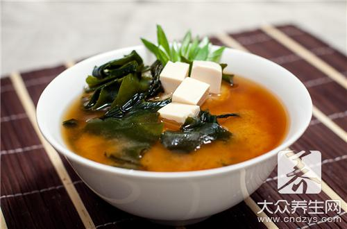 大醬湯材料