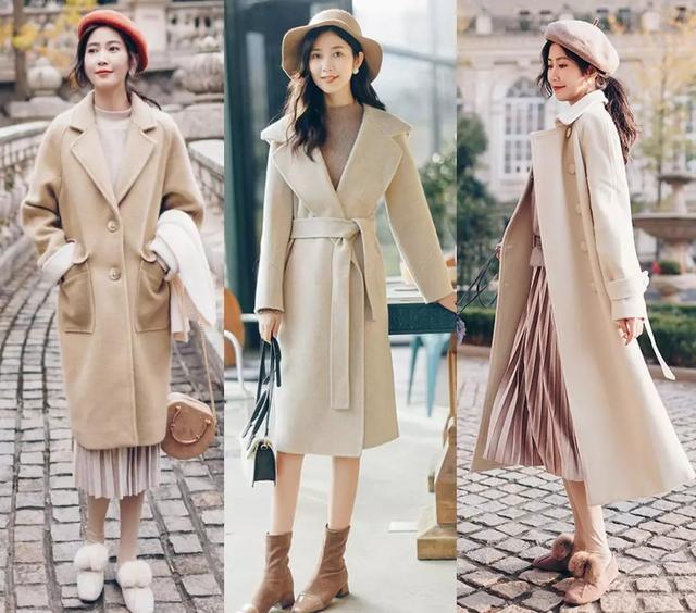 呢大衣穿搭,款款不重樣的時尚