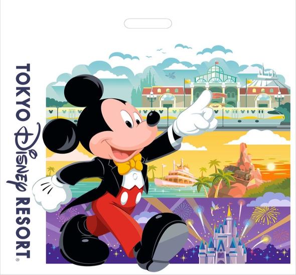 日本迪士尼樂園將從10月1日開始對購物袋收費