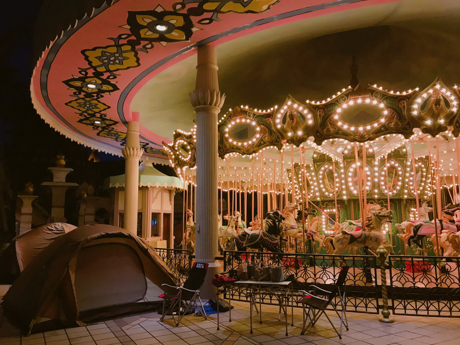 台灣遊樂園史上第一次 六福村星光露營初體驗回憶無價