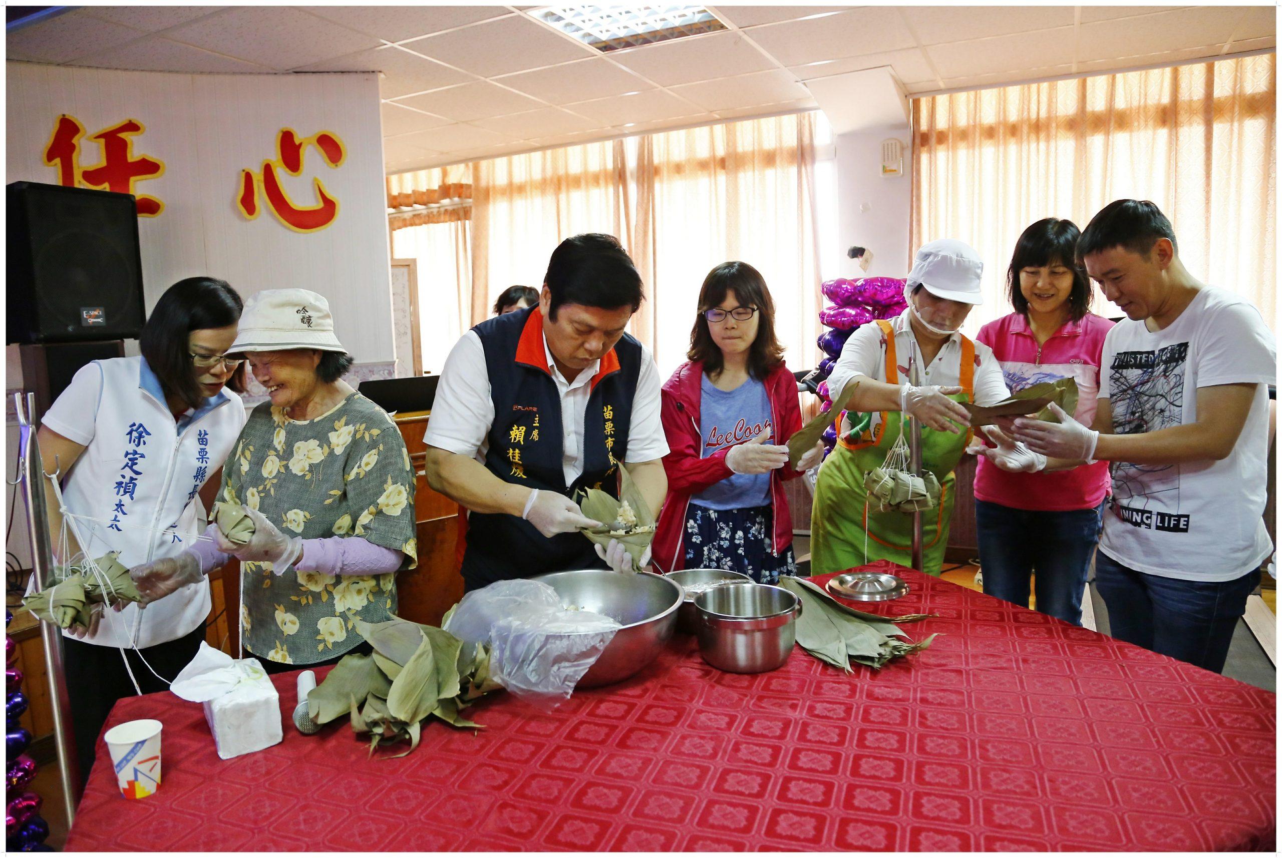「端午飄香 龍粽登場」 傳統客家粽香味四溢Q彈有勁_宜蘭傳統藝術中心